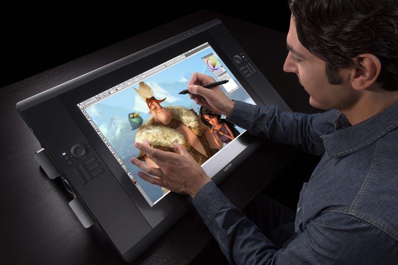 Display interativo barato